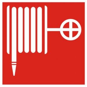 Знак безопасности Пожежнийкран-комплект