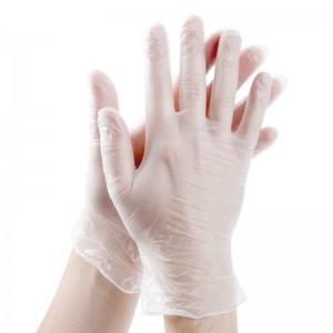 Перчатки виниловые опудренные XL 100шт / уп VP45-XL (10уп)
