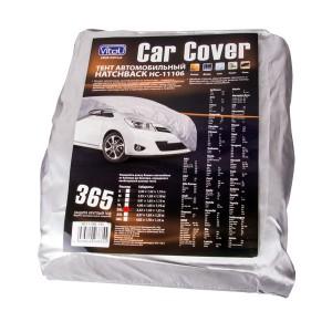 Тент автом. HC11106 L Hatchback серый полиэстер 381х165х119