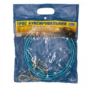 Трос буксир ST201A-U 3т метал./скоба 6мм х 4м пласт. защ.