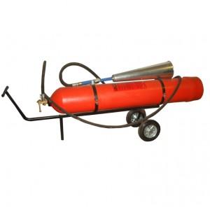 Огнетушитель углекислотный ВВК-28