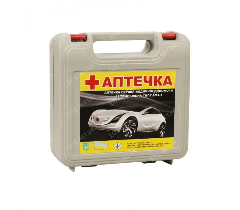Аптечка автомобильная АМА-1/АвтоПрофи/футляр