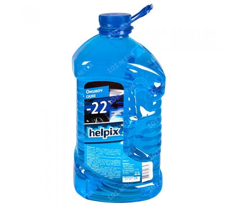 Омыватель стекол зимний HELPIX 4Л -22 (aqvablue)
