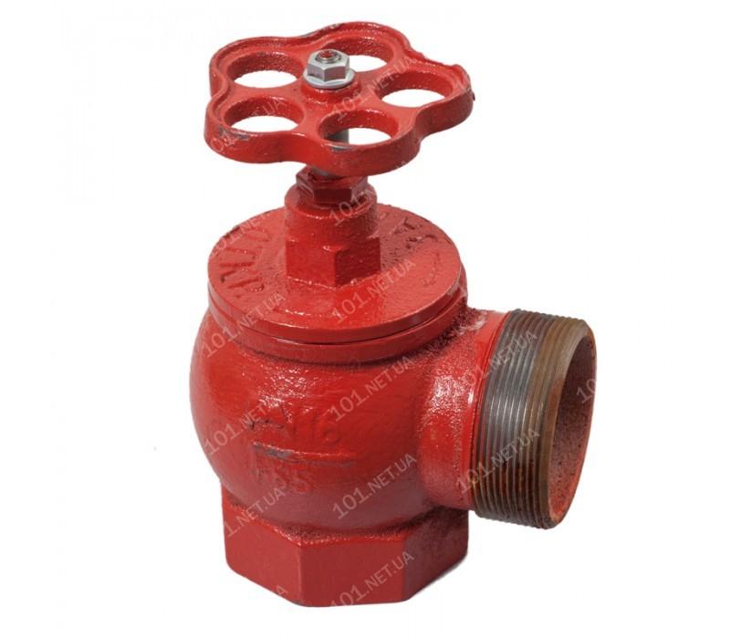 Вентиль пожарный угловой Ду65 ВН