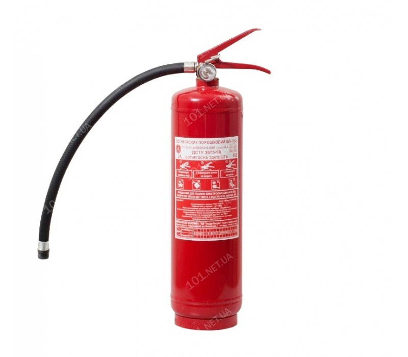 Огнетушитель порошковый ВП-3 (з)