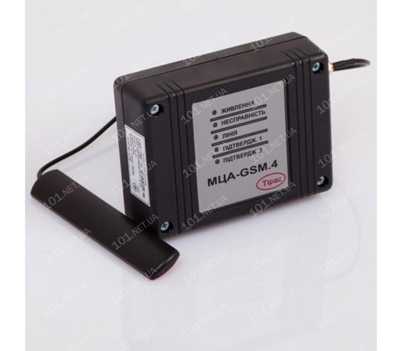 Модуль цифрового GSM-автодозвона «МЦА-GSM.4»
