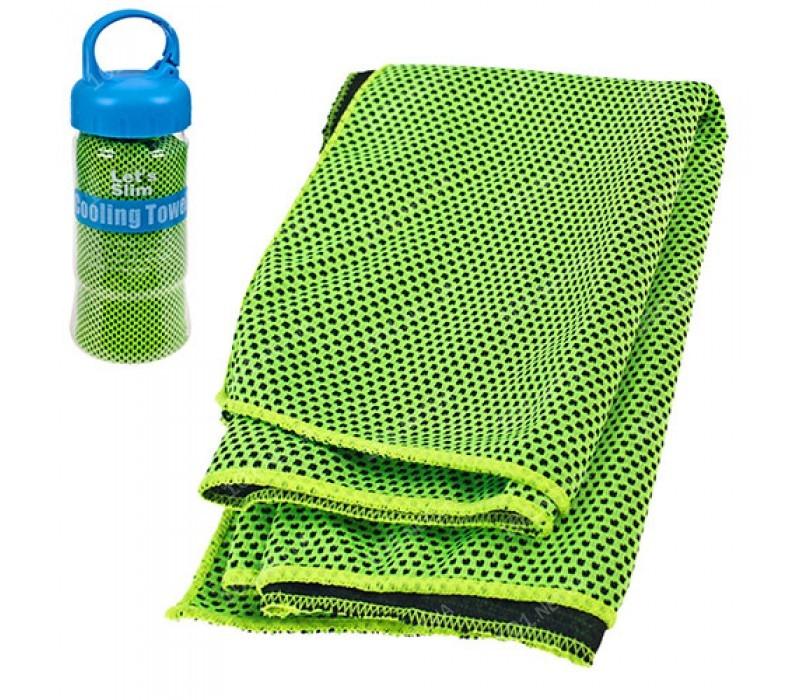 Полотенце для спорта охлаждающее 18см в тубе R22765