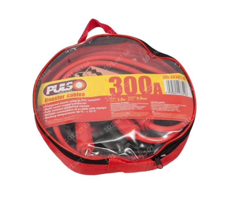 Прикуриватель PULSO 300А 3,0м в чехле