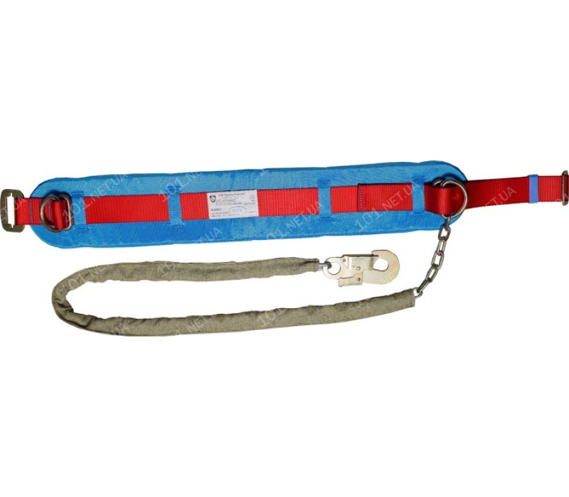 Пояс предохранительный ПП1-Г (со стропом – цепь в чехле)