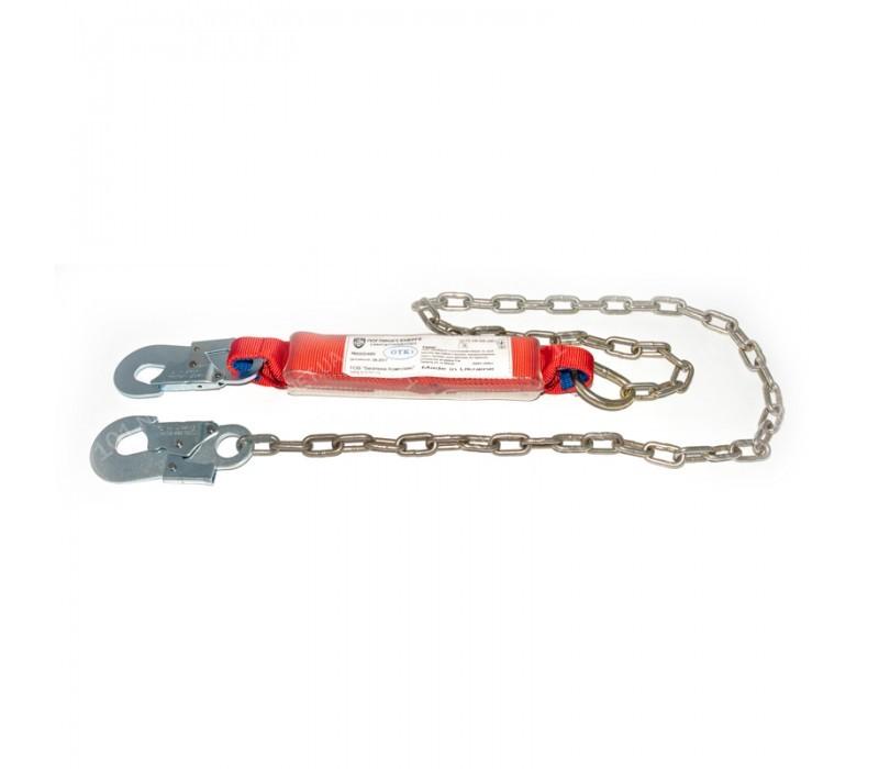 Строп – цепь с двумя малыми карабинами и амортизатором