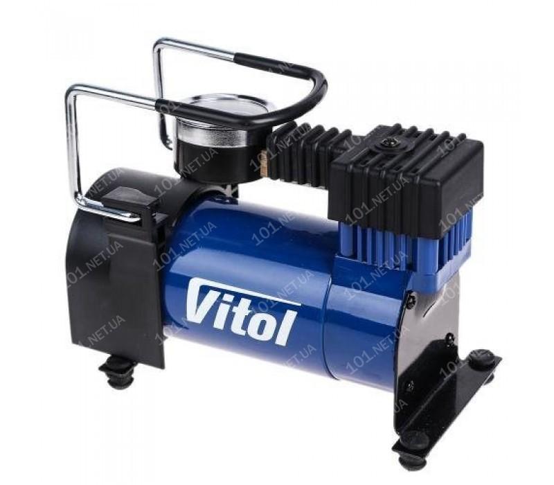 Компрессор ViTOL K-20 100psi/12Amp/35л/прикуриватель
