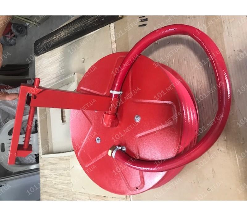 Кран-комплект с полужестким рукавом 25мм/20м, 1.2МПа (EN671-1(ДСТУ 4401-1)