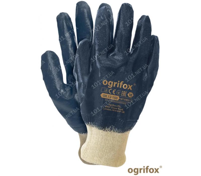 Перчатки МБС с нитриловым обливом OX-NITEREST (393)