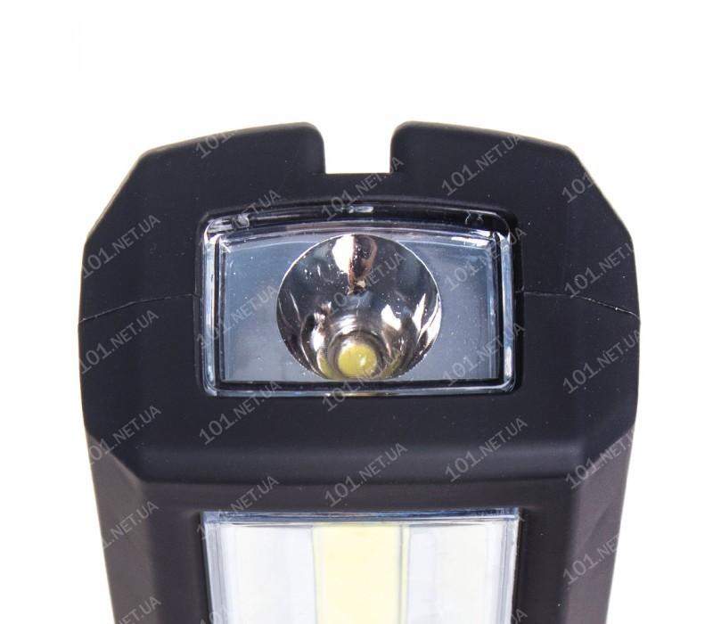 "Переносная лампа ""VOIN"" VL-191 12V/220V/3W-COB+2 LED-НР/АКБ/USB+microUSB/магнит/база (VL-191)"