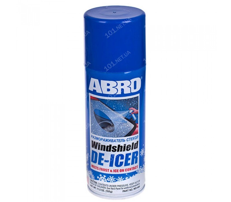 Размораживатель для окон ABRO WD 400 (326гр)