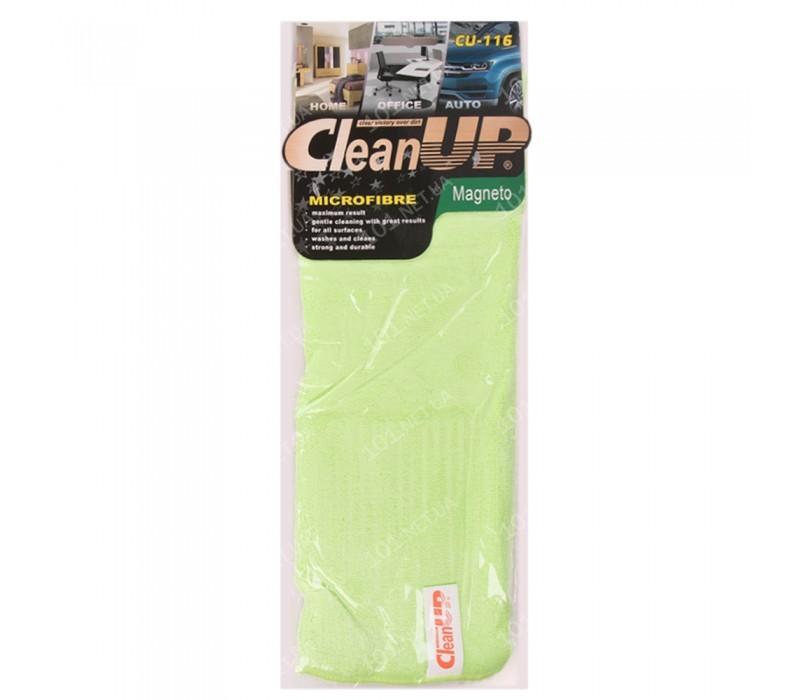 Салфетка микрофибра CleanUP CU-116 универс. 30х40см