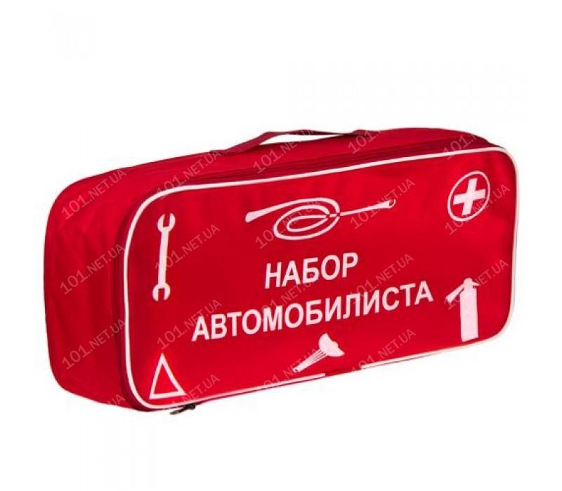 Сумка тех. помощи Набор автомобилиста (красная) 46х20х14см