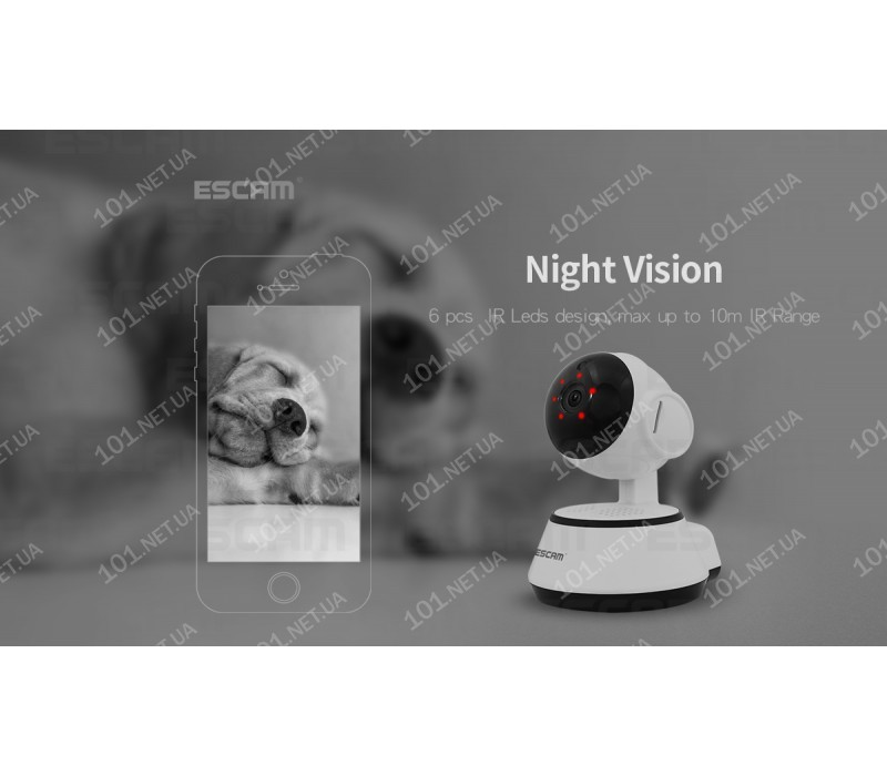 WiFi IP камера ESCAM G10 Dog