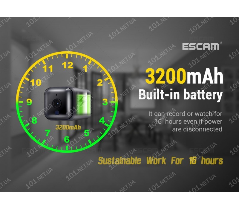 WiFi IP камера Escam G16 mini
