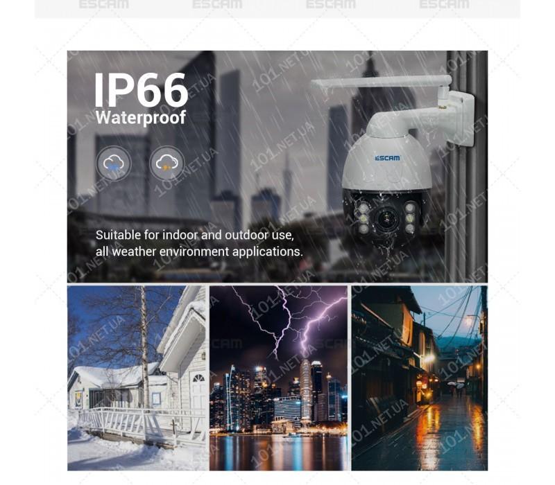 WiFi IP камера ESCAM Q1068 4xZoom