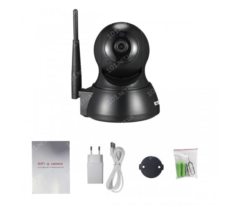 WiFi IP камера ESCAM QF007 черная