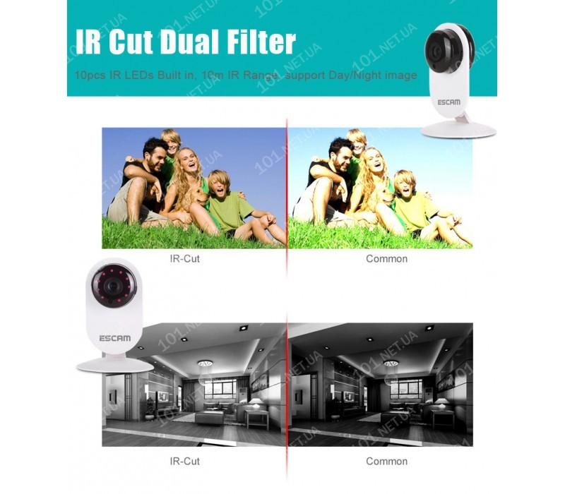 WiFi IP камера ESCAM QF605