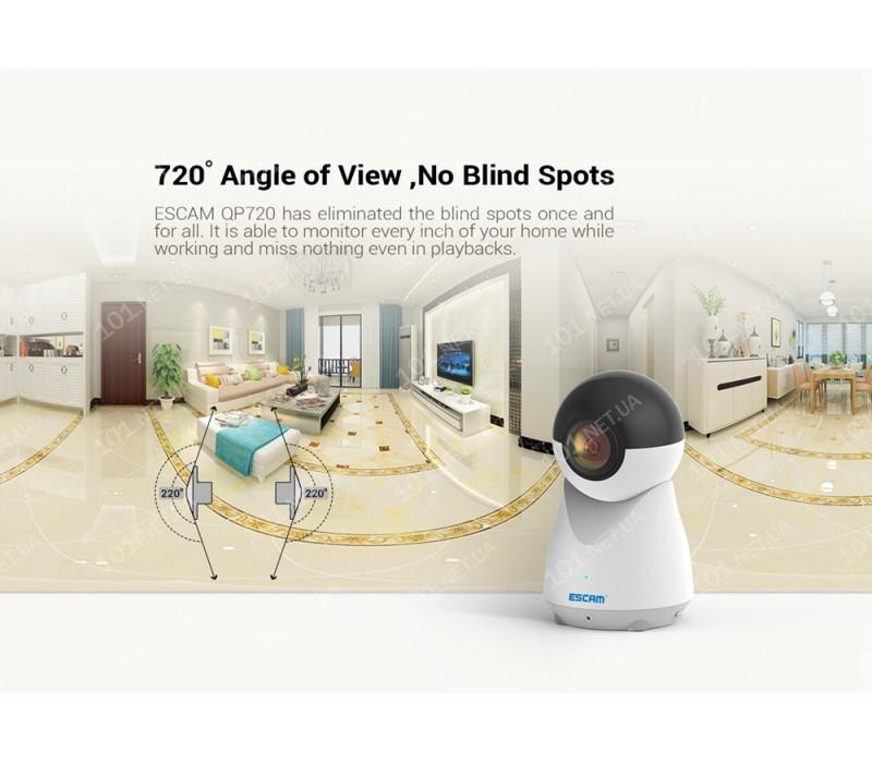 WiFi IP камера ESCAM QP720