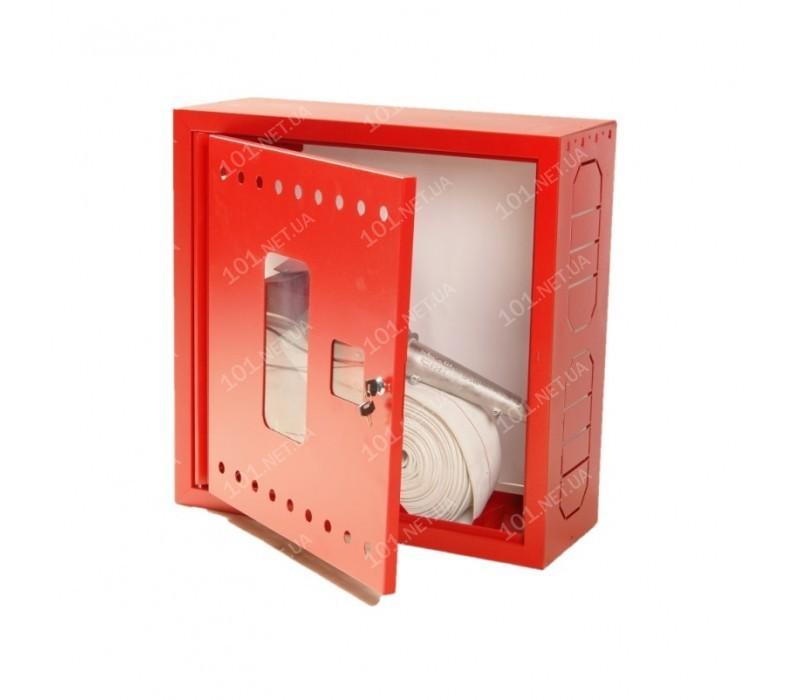 Кран-комплект пожарный ПКК-50 со шкафом, угловым клапаном, ствол алюминий