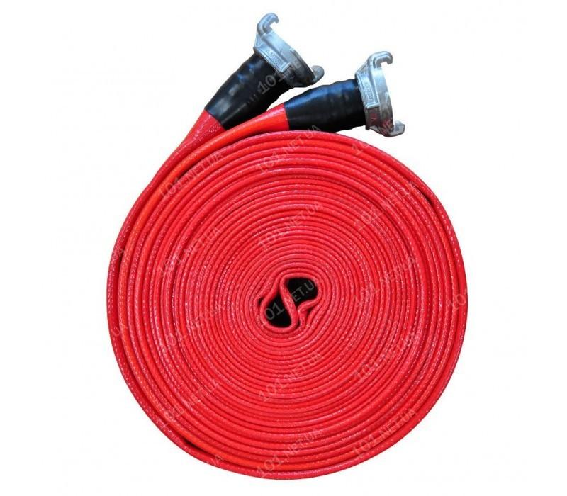 Рукав пожарный d51мм 20м с ГР-50 тип КП (кран-полив) с двухсторонним покрытием