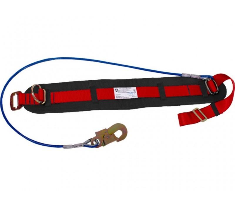 Пояс предохранительный ПП1-Б (со стропом – металлический канат)