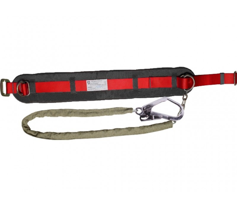Пояс предохранительный ПП1-Г (со стропом – цепь в чехле кольцо-большой карабин)